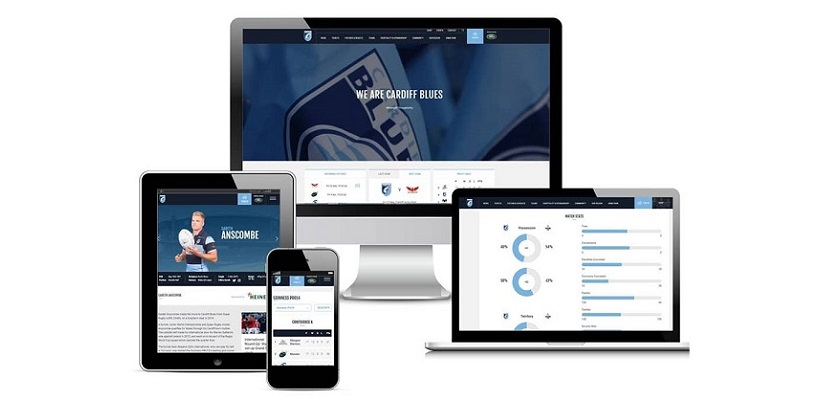 Cardiff Blues' new website kicks off