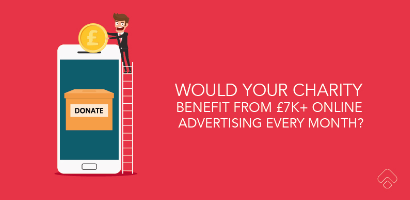 Claim more than £7000 from the Google Adwords Grant for Charities