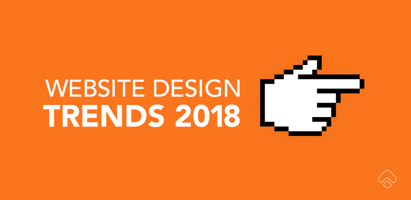 2018 website design trends